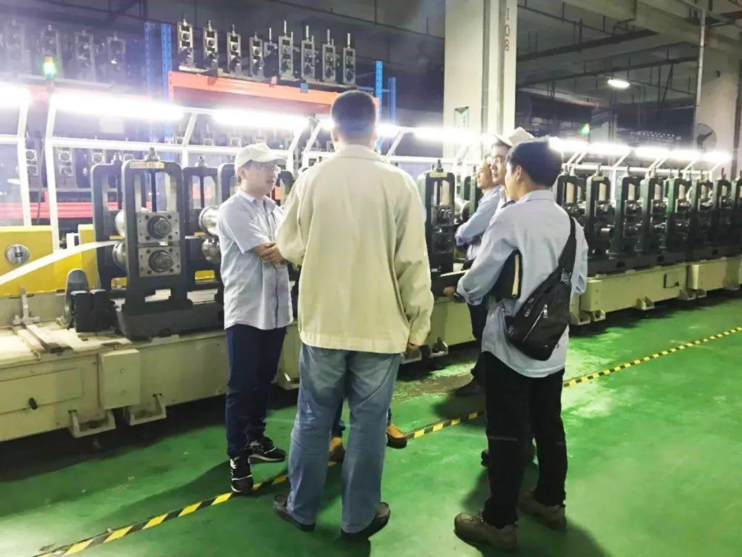 【分享先进技术 提高专业水平】十一部辊压件深圳工厂接待二部M&E工厂到访参观交流