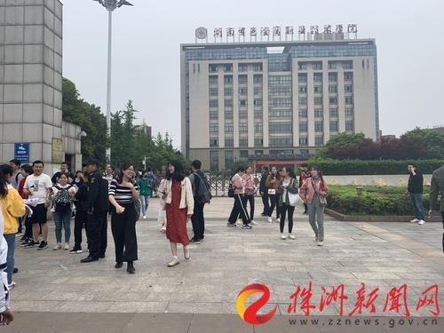 湖南省考开考 株洲6310人闯关!招录比达17.3:1