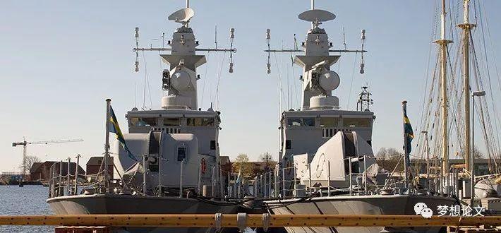"""瑞典""""斯德哥尔摩""""级导弹艇"""