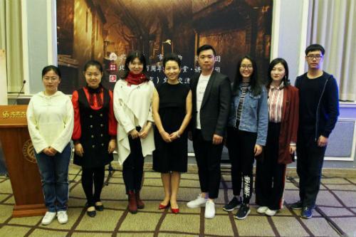 北京市曲剧团携新戏《太平年》走进北京大学