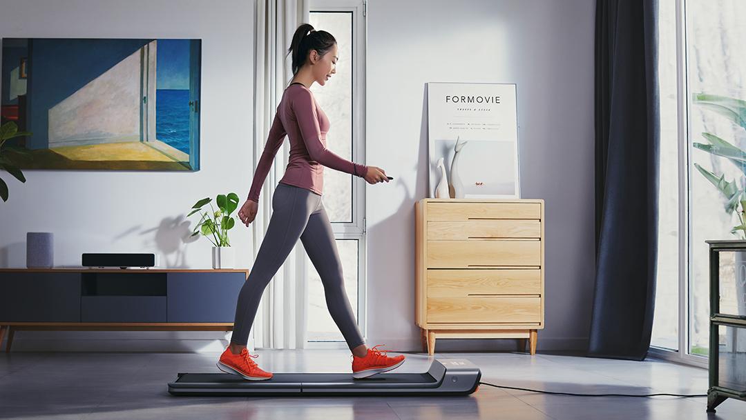 小米推出夏日客厅瘦身三件套:走步机、风扇、体脂称