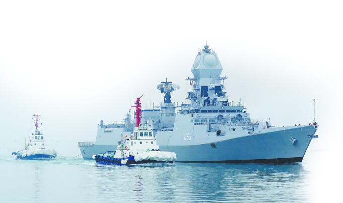 4月23日海上閱兵!中外受閱艦艇有三大亮點_護衛艦