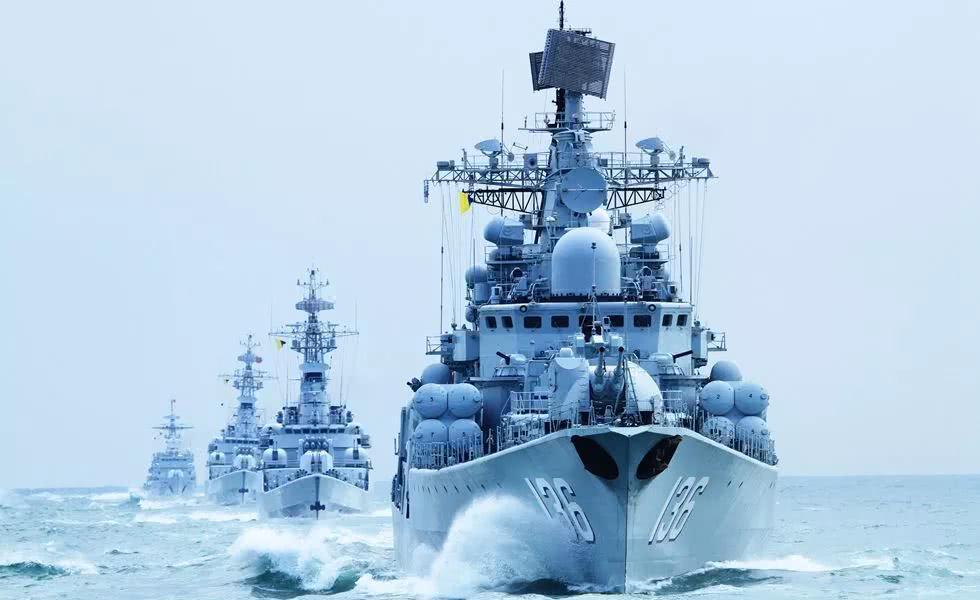 中國人民解放軍海軍成立70周年_我國