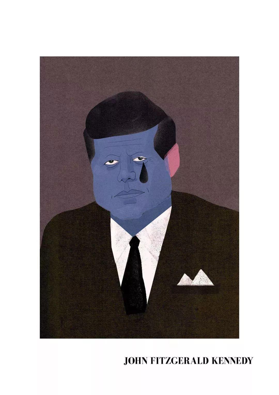16张国外名人肖像插画,太逼真了 你能认出几个