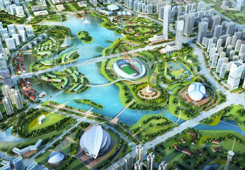 郑州奥体中心规划图
