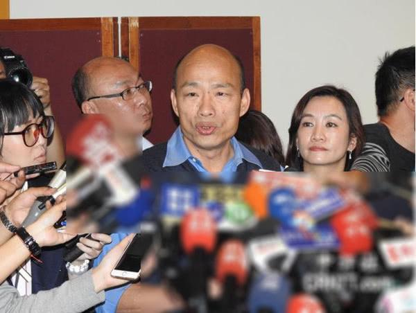 韓國瑜今將提前表態是否參選2020_臺灣地區