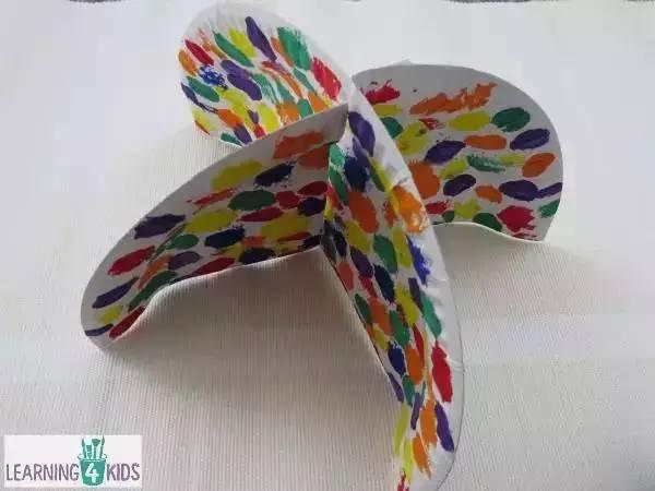 适合幼儿园的手工吊饰环创制作,美到不行了