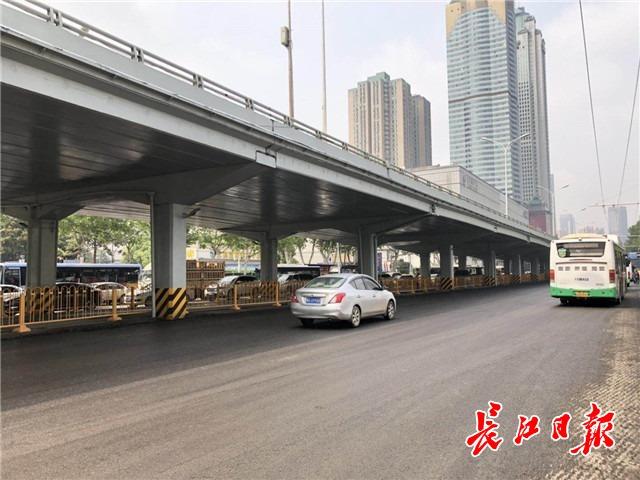 解放大道(古田二路-循礼门)主干车行道整治提升预计月底完工