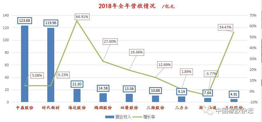 国内大型橡胶制品企业,全年业绩分析!
