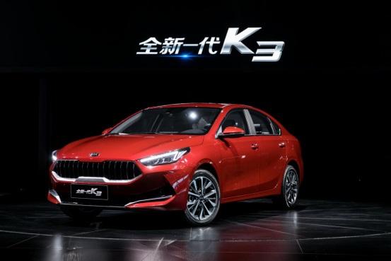 搭载全新动力总成,全新一代K3以最优油耗带来充沛动力