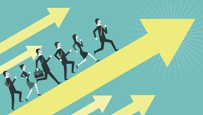 互联网人才流向,反应行业加速升级