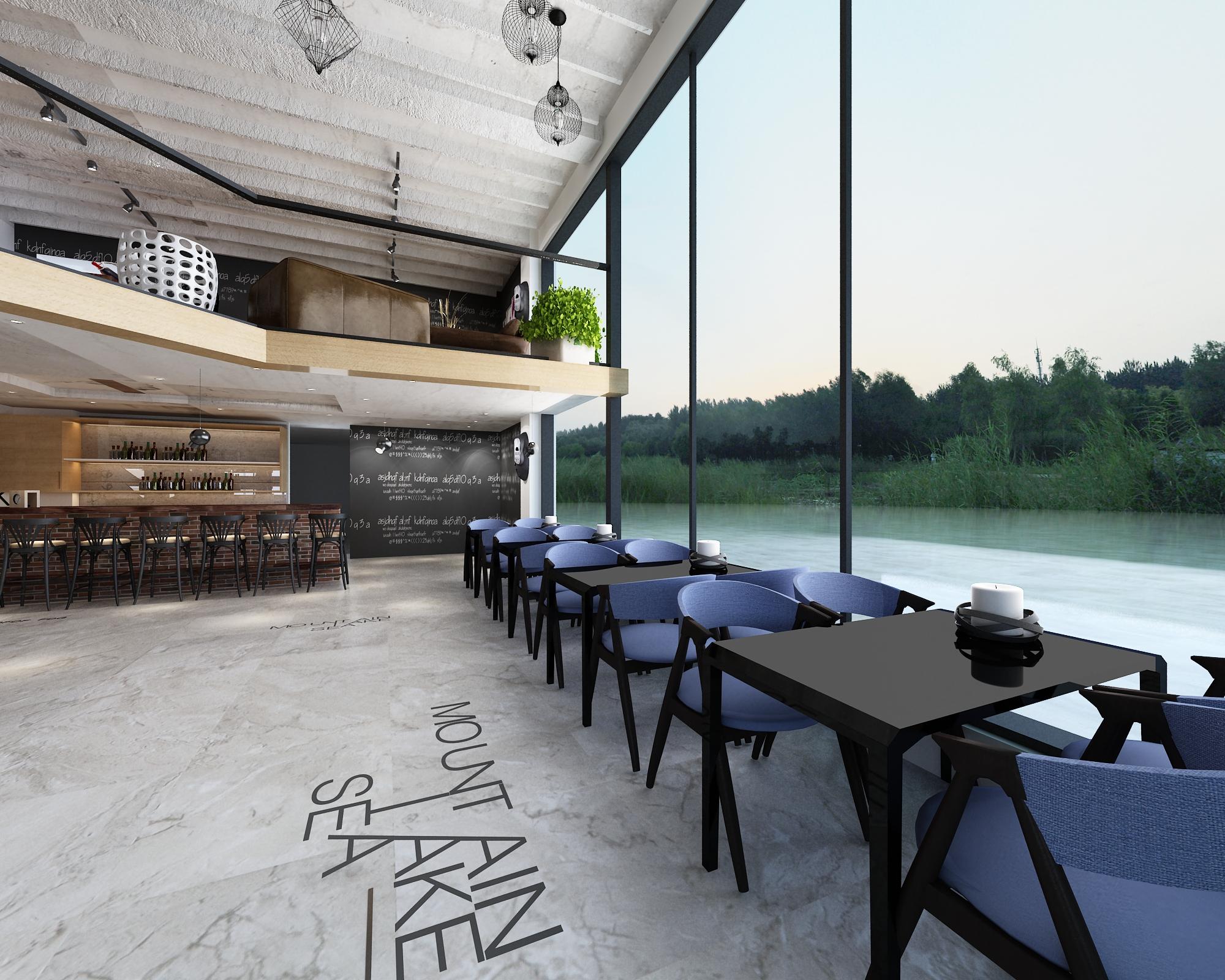 咖啡店装修风格了解,创意型咖啡吧设计效果图!