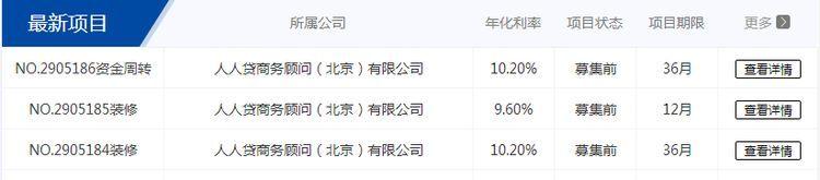 中国互金协会开放项目信息查询功能 人人贷作为试点机构接入