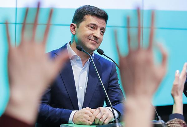 人物丨乌克兰当选总统泽连斯基:从电视剧照