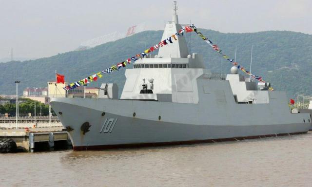 055大驱具备全新能力,不止是给航母护航,和美军只差一个拦截弹