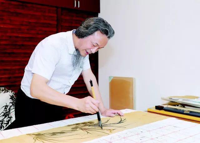 妙笔丹青:当代著名国礼画家金晓海