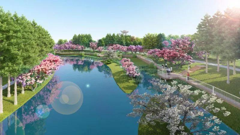 南海未来城:核心区南海公园初现芳华