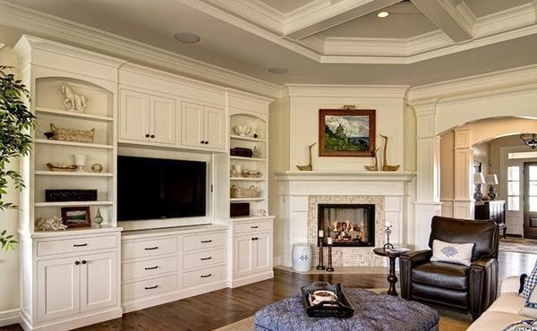 朋友都夸我家洋气,就是因为我家装了美式电视背景墙!