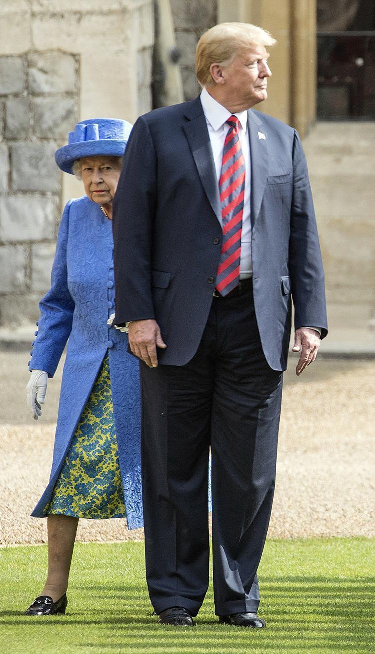 原创 特朗普和夫人梅拉尼娅欲再访问英国,还没出发,笑话先来了