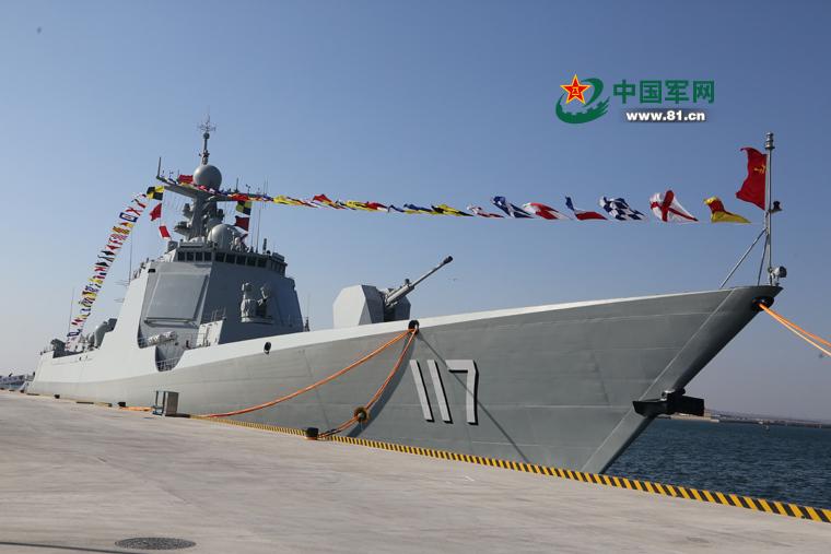 檢閱艦為何選西寧艦?052D將是數量最多主力大驅_中國海軍