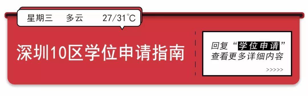 深圳的公寓可以申请学区房吗?哪些区可以?如何申请看这里!