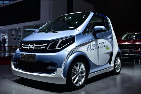 绿动未来—众泰上海车展首发E200 FCV燃料电池汽车