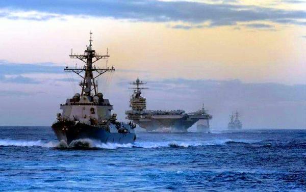 一箭四雕!美国派出双航母抵达一敏感地区,四个方向同时拉响警报