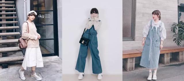 身高151台湾妹纸长相普通衣品很好!春季基础款穿搭,休闲又气质!