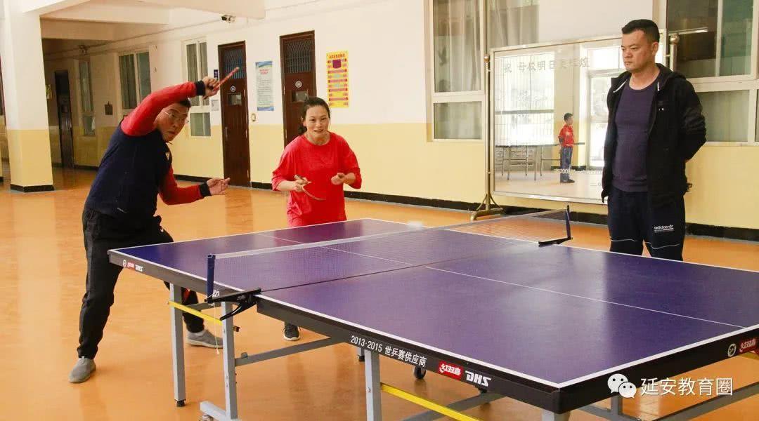 老师的春天,不光有诗和远方,还有精彩的乒乓球比赛!