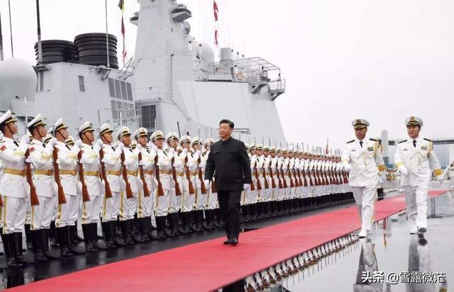 人民海军70周年阅兵,7艘驱逐舰群都到齐,想要拿去