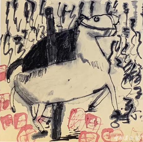 金童星·全国少儿美术大展2019-作品选评(美育思蒙艺术空间)