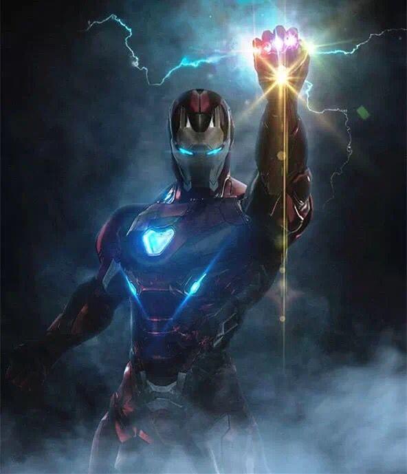 《复联4》高清壁纸,无限钢铁侠,神锤美队