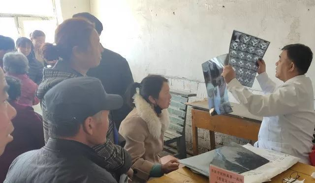 【健康龙江行第14站】齐医附属一院走进龙江县白山乡七村