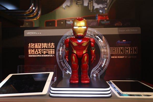 鋼鐵俠智能機器人首發,上海迪士尼樂園推復聯主題新體驗_英雄