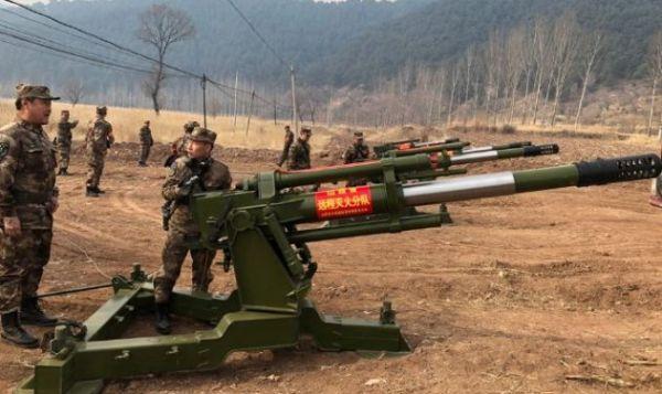 大炮坦克成中国灭火利器 一分钟向火场喷水15吨