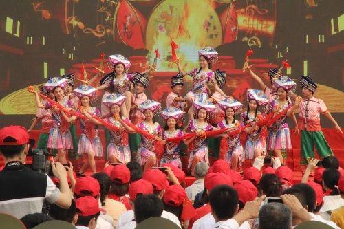 纪念五四运动100周年大会在南宁市第三十五中学胜利召开