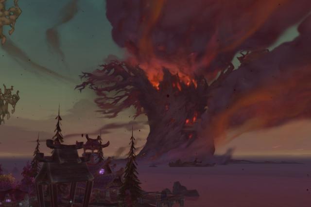 魔兽世界:假如争霸艾泽拉斯结束了,两座主城会复原吗?