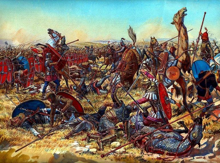 产战争_罗马帝国与帕提亚人的战争