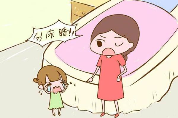 别盲目让孩子早分床,如果做不到两点,反而影响他们一生