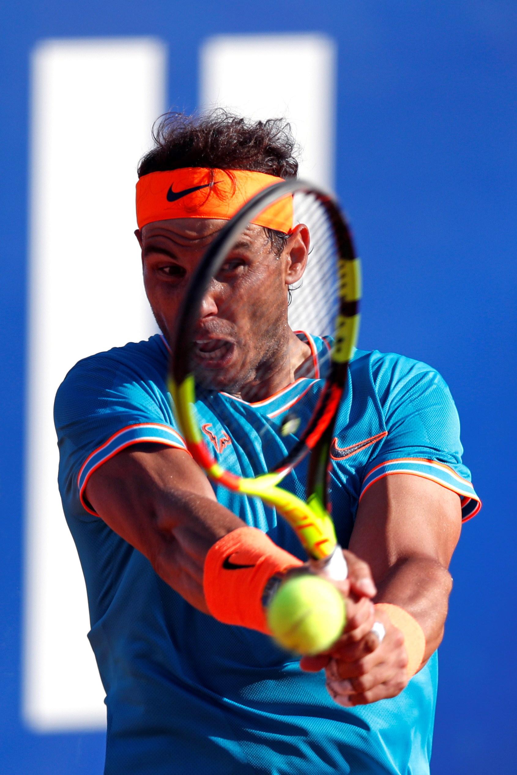 网球――巴塞罗那公然赛:纳达尔无缘决赛