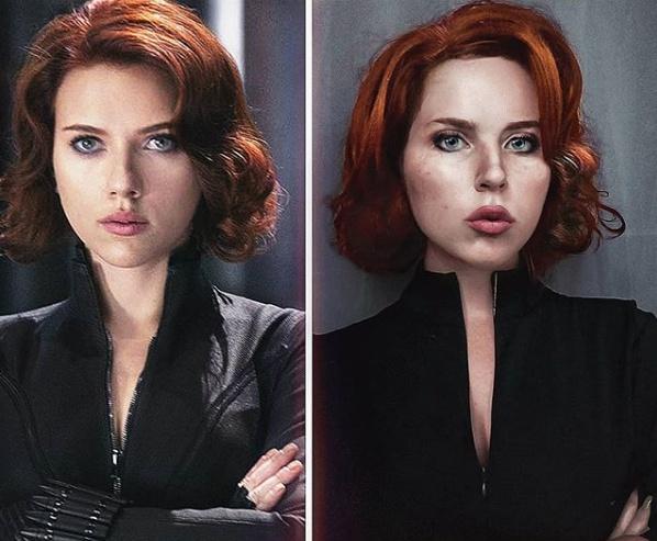 原创 俄罗斯小姐姐用cosplay致敬复联4,她承包漫威几大女角色