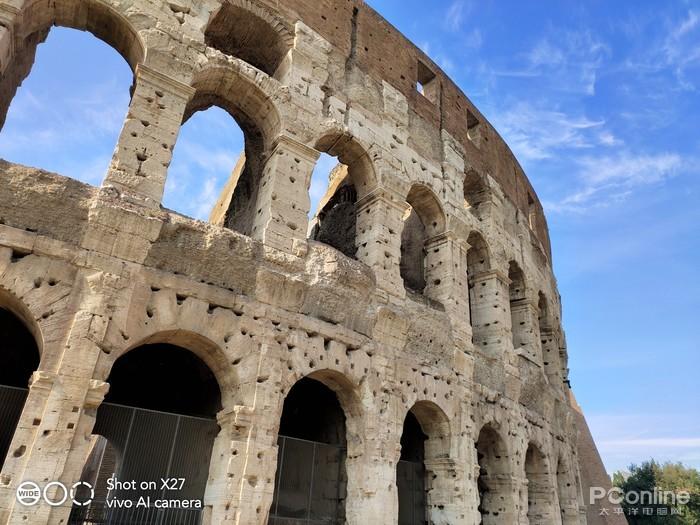 古罗马中心平面图