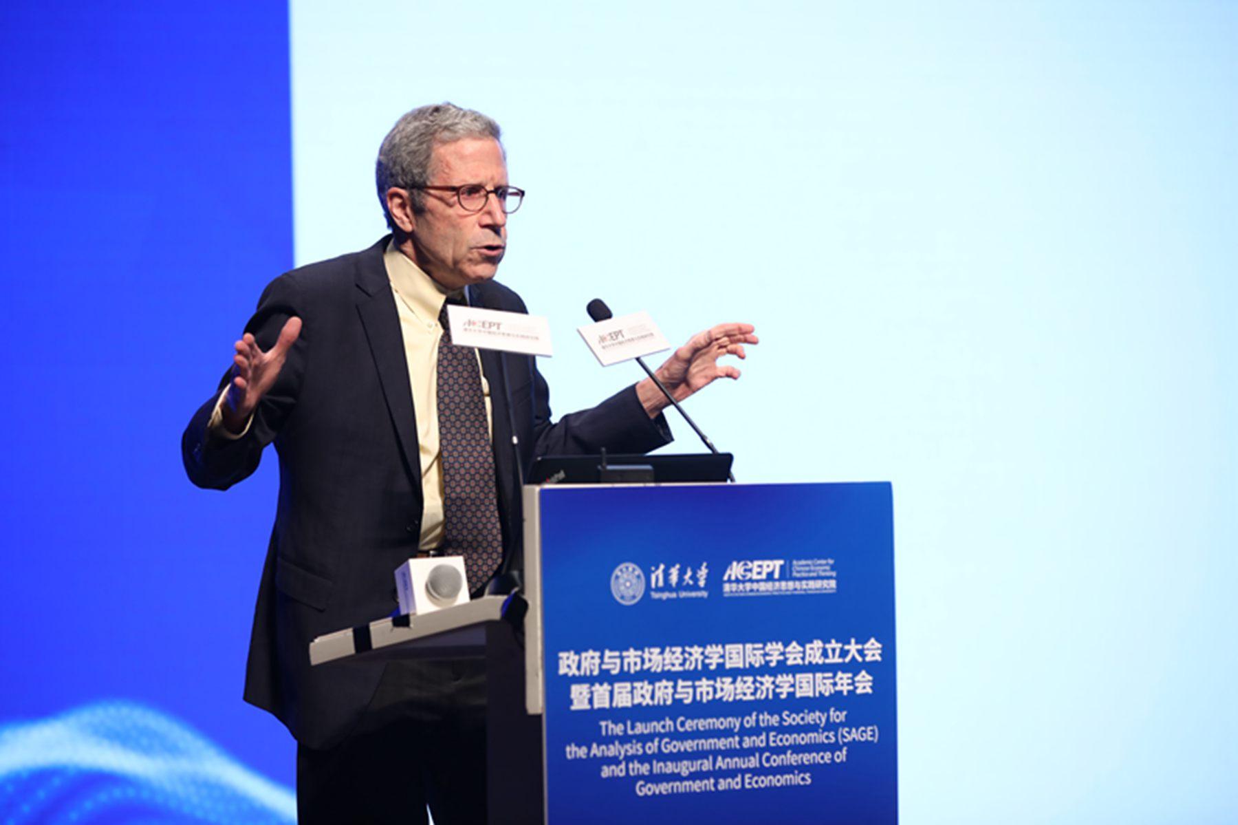 诺奖得主马斯金:中国PPP公私合作是非常天才的安排