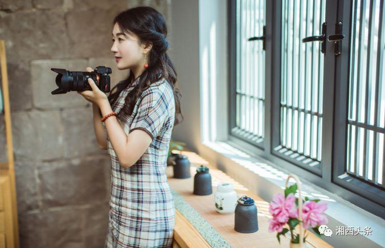 湘西这位美女作家,摄影竟如此美!