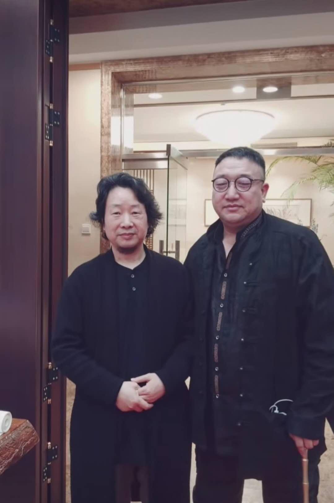 郭万禄先生应邀参加宋秦晋老师画展