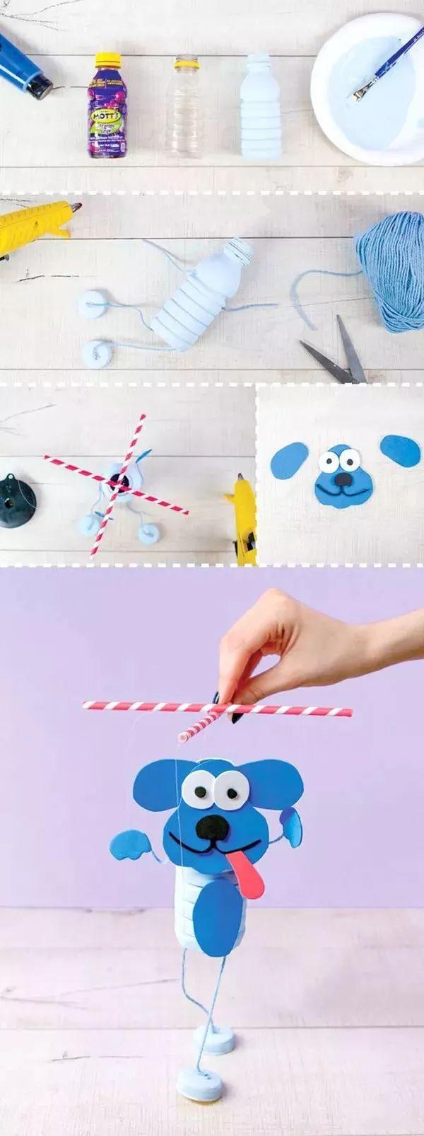 【创意手工】自制提线小玩偶,打开创意艺术启蒙新世界