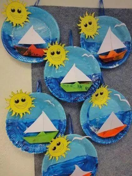【创意手工】几十种惊喜纸盘手工,承包幼儿园整个学期美工课堂!