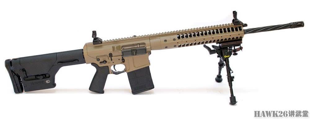 评测:LWRC公司REPR20狙击步枪 700米命中单兵目标