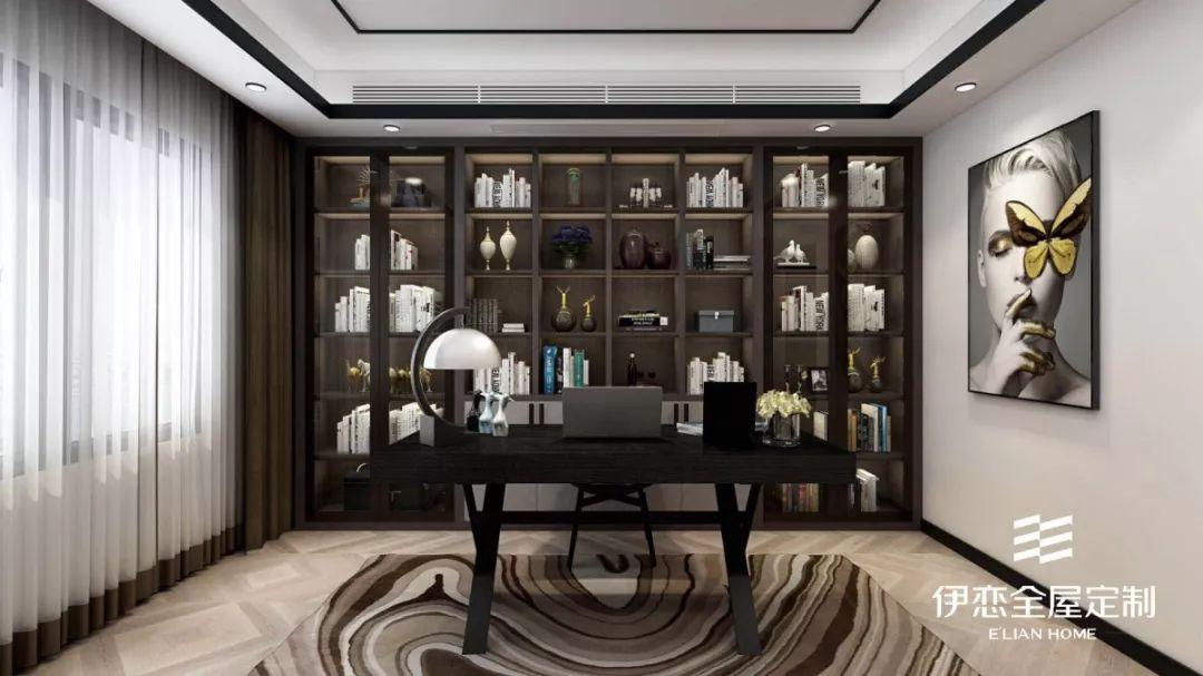 定制书柜挑选攻略,让你的书房也