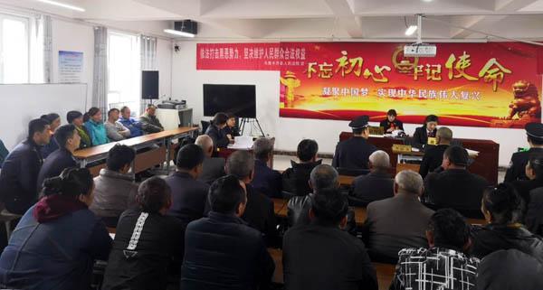 乌鲁木齐县法院:巡回审判入乡村 节前普法效果好